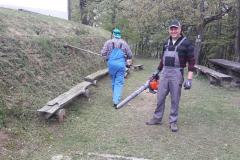 Delovna akcija na Gori 29.4.21